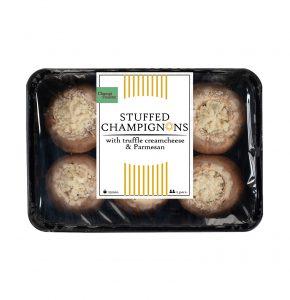 Stuffed-chestnut-mushrooms-with-truffel-cream-cheese